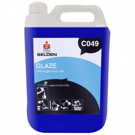 GLAZE GLASS & VDU CLEANER 4X5L