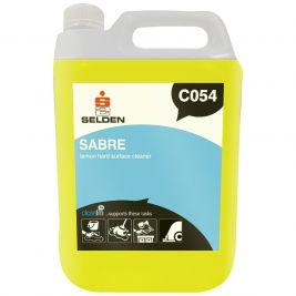 Selden Sabre Lemon Hard Surface Cleaner 5 Litres