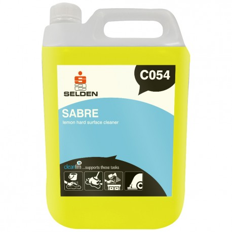 Selden Sabre Lemon Hard Surface Cleaner 5 Litres