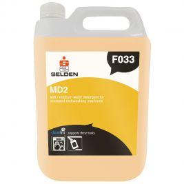 Selden MD2 Soft-Medium Water Machine Dishwash Detergent 5 Litres