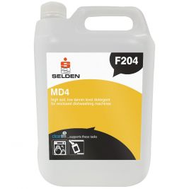 Selden MD4 High Soil Machine Dishwash Detergent 5 Litres