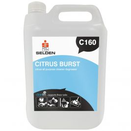 Selden Citrus Burst All Purpose Cleaner Degreaser 5 Litres