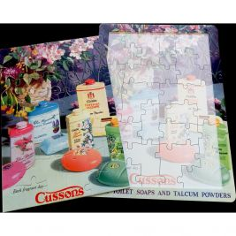16 Piece Jigsaw Puzzle Cussons Soap