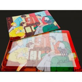 16 Piece Jigsaw Puzzle Radio Family