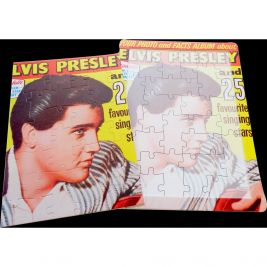 16 Piece Jigsaw Puzzle Elvis