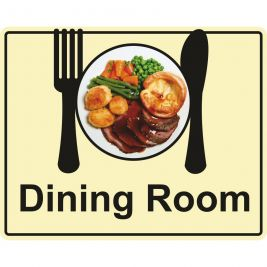 Eyeway Dining Room Sign