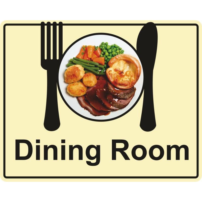 Eyeway Dining Room Sign