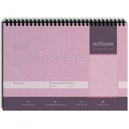 Domestic Cleaning Record Book