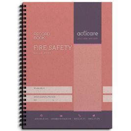 FIRE SAFETY RECORD BOOK EACH