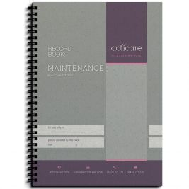MAINTENANCE RECORD BOOK