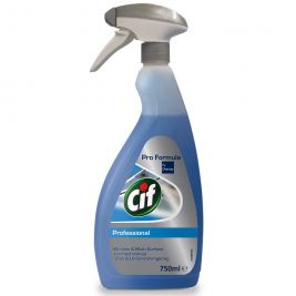 Cif Professional Window and Multi Surface Cleaner 750ml