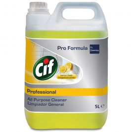 Cif Professional All Purpose Cleaner Lemon 5 Litres 1x2