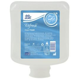 DEB Refresh Clear Foam 1 Litre
