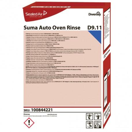 Diversey Suma Auto Oven Rinse D9.11 10 Litres