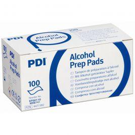 PDI Alcohol Prep Pads 1x100
