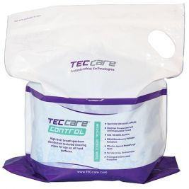 TECcare Control Medical Device Wipes 4x200