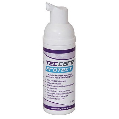 TECcare Protect Hand Sanitising Foamer 50ml 1x10