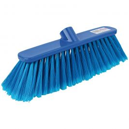 Abbey Soft Deluxe Broom Head Blue