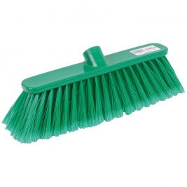 Abbey Soft Deluxe Broom Head Green