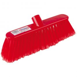 Abbey Soft Deluxe Broom Head Red