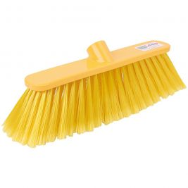 Abbey Soft Deluxe Broom Head Yellow