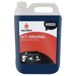 Selden Act Original Toilet Cleaner and Descaler 5 Litres 1x2