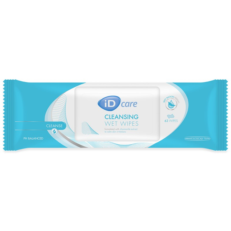 Id Care Wet Wipes 8 Pack