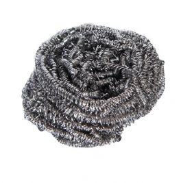 STAINLESS STEEL SCOURER 40GM PK10