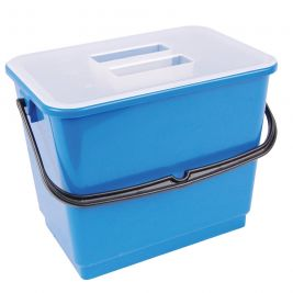 Bucket and Lid 4 Litre Blue