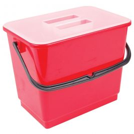 Bucket and Lid 4 Litre Red