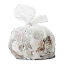Clear Refuse Sacks 160g 1x200