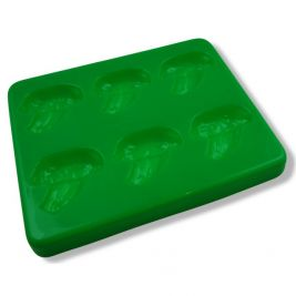 Puree Food Mould with Lid Broccoli