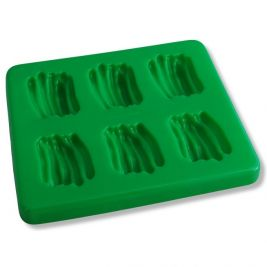 Puree Food Mould with Lid Green Beans
