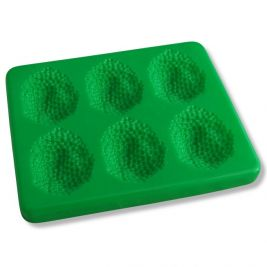 Puree Food Mould with Lid Peas