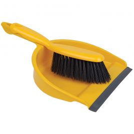 Dustpan and Brush Set Yellow