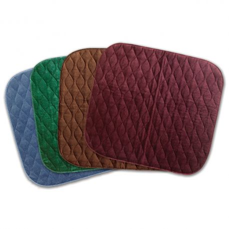Velour Chairpad Blue