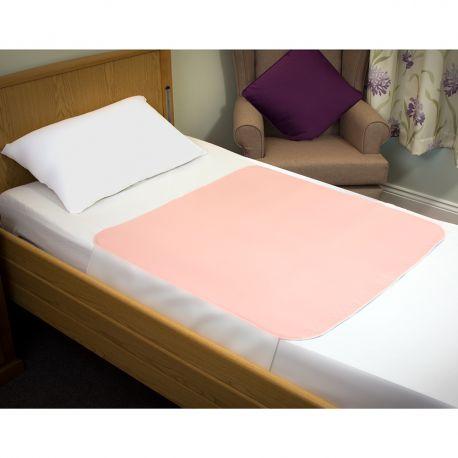 Sonoma Bedpad with Tucks 85cmx115cm Pink
