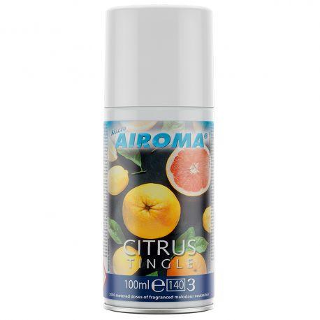 Micro Airoma Classics Fragrance Refill Citrus Tingle 100ml 1x12