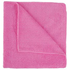 Contract Microfibre Cloth Pink 1x10