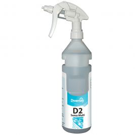 Diversey Suma Multi-Conc D2 Spray Bottle 750ml 1x6