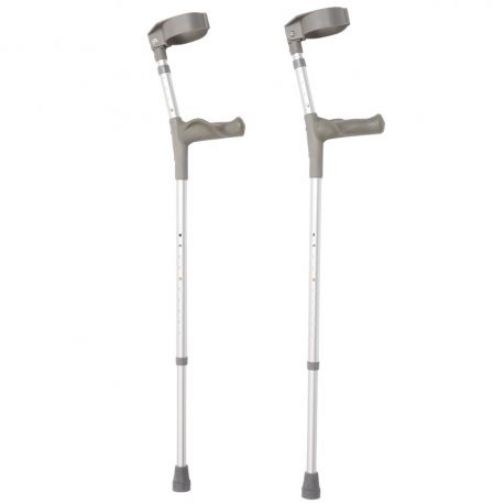 Forearm Crutches with Anatomic Grip 1x2