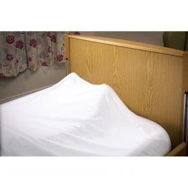 Sleep Knit Flame Retardant Top Sheet Single Bed Cream