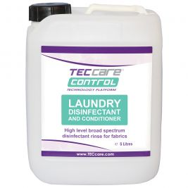 TECcare Control Laundry Disinfectant and Conditioner 5 Litres