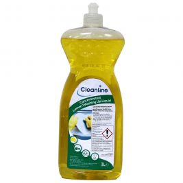 Cleanline Concentrated Lemon Washing Up Liquid 1 Litre