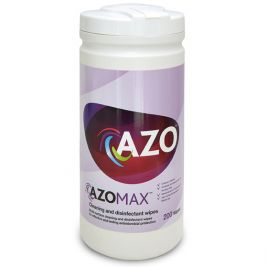 Azomax Cleaning and Disinfection Wipes 12x200
