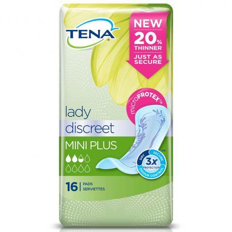 Tena Lady Discreet Mini Plus 8x16
