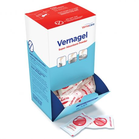 Vernacare Vernagel Super Absorbent Powder Sachets 1x100