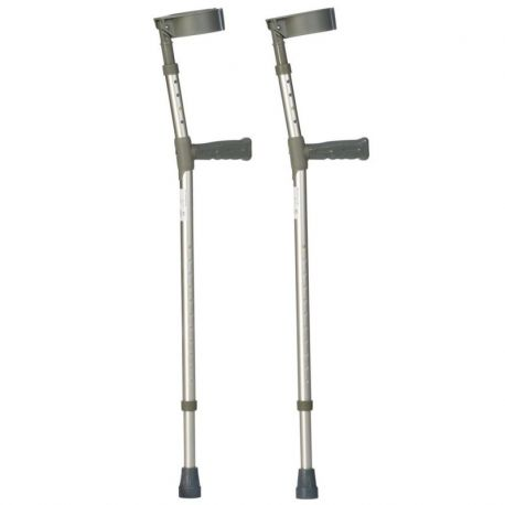 DOUBLE ADJ CRUTCHES (PAIR) EXTRA LONG