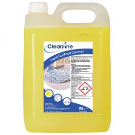 Cleanline Hard Surface Cleaner 5 Litres 1x4