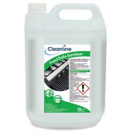 CLEANLINE FOOD SAFE SANTISER 5L